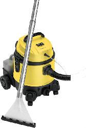 CLATRONIC BSS 1309 Shampoo, Nass- und Trockensauger, Nass-/Trockensauger, 1200 Watt, Gelb/Schwarz