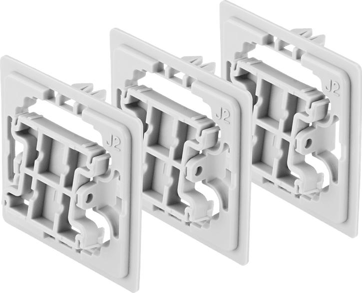 BOSCH 8750000408  Adapter 3er-Set Jung (J2), Weiß