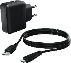 HAMA 100 - 240 Volt Netzteil mit USB-C-Kabel, Schwarz