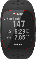 POLAR M430, GPS-Trainingscomputer, 130-230 mm, Schwarz