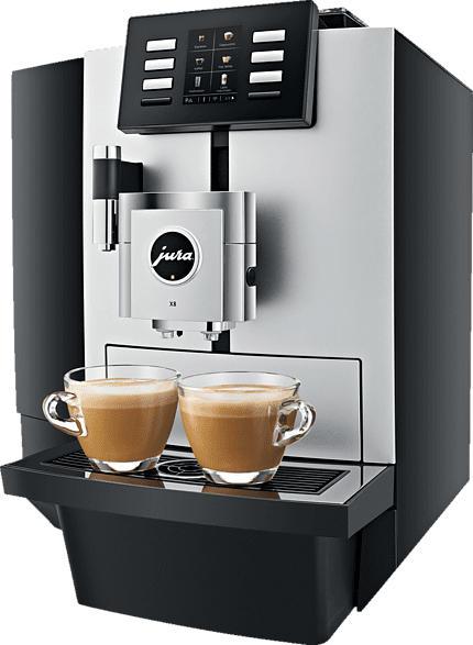 JURA X8 Kaffeevollautomat Platin