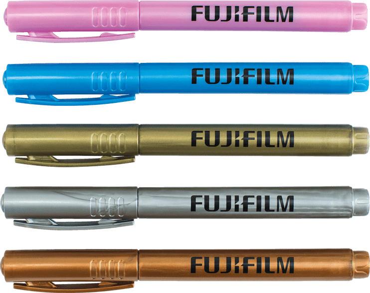 FUJIFILM Metalic Pen Set, Mehrfarbig
