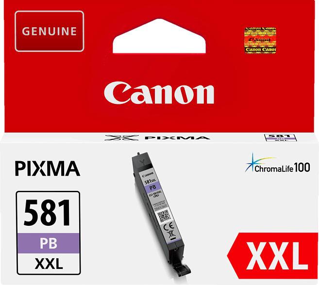 CANON CLI-581PB XXL Tintenpatrone Blau Photo (1999C001AA)