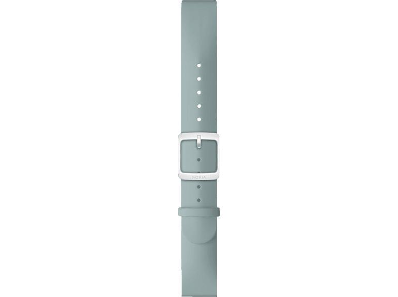 NOKIA Activite, Silikon Armband, Nokia, Steel HR 36 mm, Blau