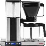 MediaMarkt GASTROBACK 42706 Design Brew advanced Kaffeemaschine Silber/Schwarz