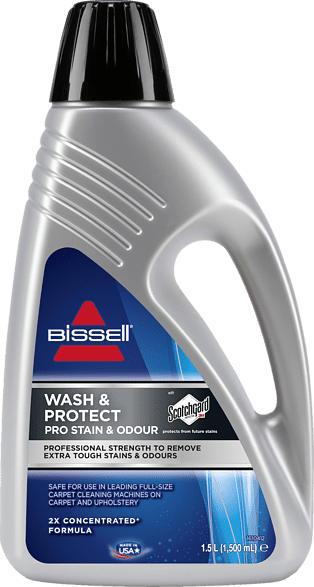 BISSELL 1089N Wash & Protect Pro Reinigungsmittel, Grau/Schwarz