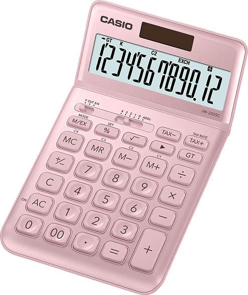 CASIO JW-200SC-PK Tischrechner