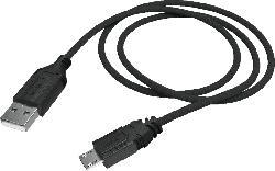 HAMA Basic Controller-Ladekabel, Schwarz