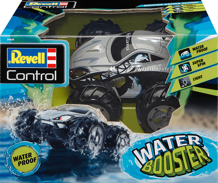 REVELL Stunt Car Water Booster R/C Spielzeugauto, Mehrfarbig