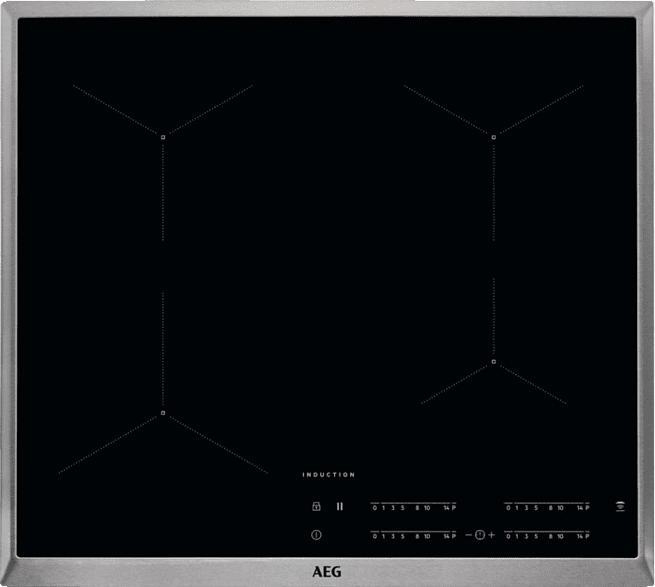 AEG IKB64431XB, Induktionskochfeld (576 mm breit, 4)