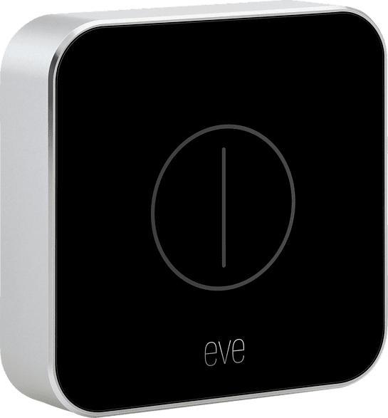 EVE Button Taster, Silber/Schwarz
