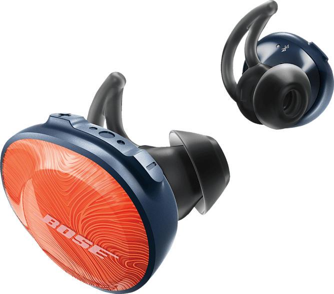 BOSE SoundSport Free Wireless, In-ear Kopfhörer Bluetooth Orange
