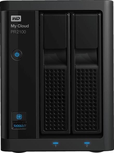 WD My Cloud PR2100 Pro Series  20 TB extern
