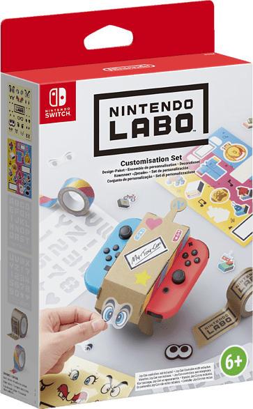 NINTENDO Labo: Design-Paket , Nintendo Switch Sticker