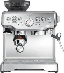 SAGE SES875BSS2EEU1A the Barista Express Espressomaschine Silber
