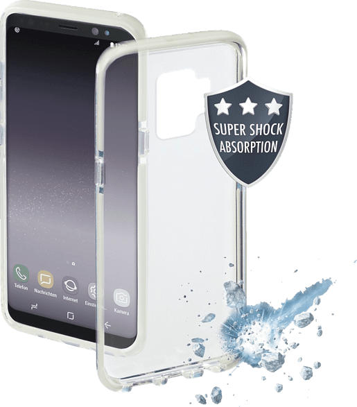 HAMA Prime Line , Backcover, Samsung, Galaxy S9, Thermoplastisches Polyurethan, Weiß