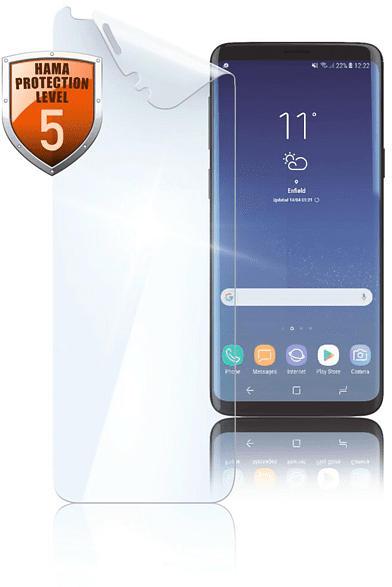 HAMA Crystal Clear Schutzfolie (Samsung Galaxy S9)