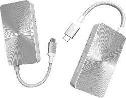 ADAM ELEMENTS CASA Hub PDC501 Multi-Port Adapter, Silber