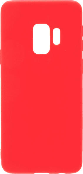 V-DESIGN VMT 232 Matt , Backcover, Samsung, Galaxy S9, Thermoplastisches Polyurethan, Rot
