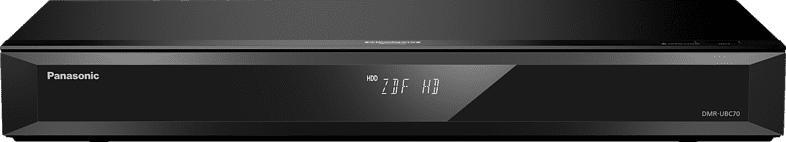 PANASONIC DMR-UBC70 EGK UHD Blu-ray Recorder, Schwarz