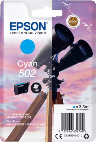 EPSON 502 Cyan (C13T02V24010)