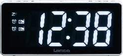 LENCO CR 030 WH Radio-Wecker (Weiß)