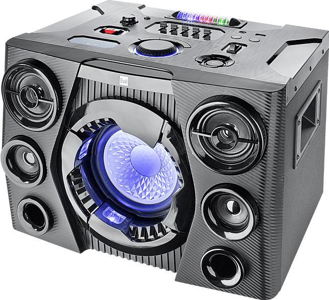 DUAL DSBX 110 Mobiles Soundsystem Schwarz
