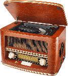 Media Markt DUAL NR 1 CD Nostalgie CD-Radio (Braun)