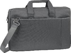 RIVACASE 8251 Notebooktasche, Umhängetasche, Grau