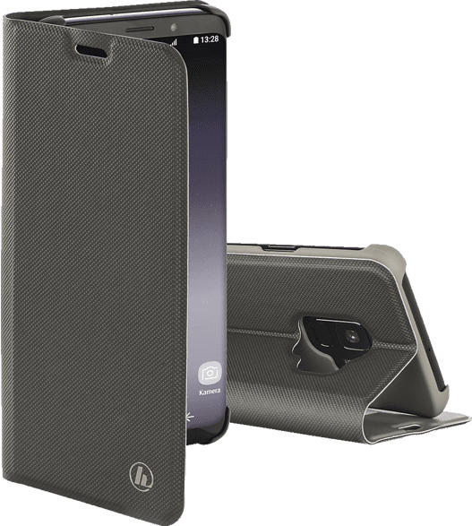HAMA Slim Pro , Bookcover, Samsung, Galaxy S9, Polyurethan, Grau