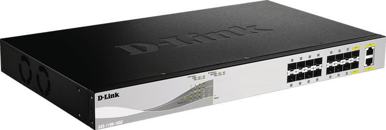 Smart Switch D-LINK DXS-1100-16SC 16