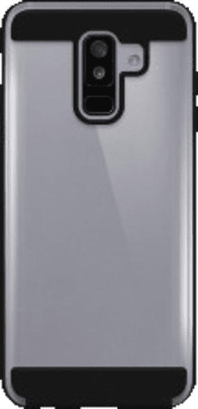 BLACK ROCK Cover Air Protect , Backcover, Samsung, Galaxy A6+ (2018), Kunststoff, Schwarz