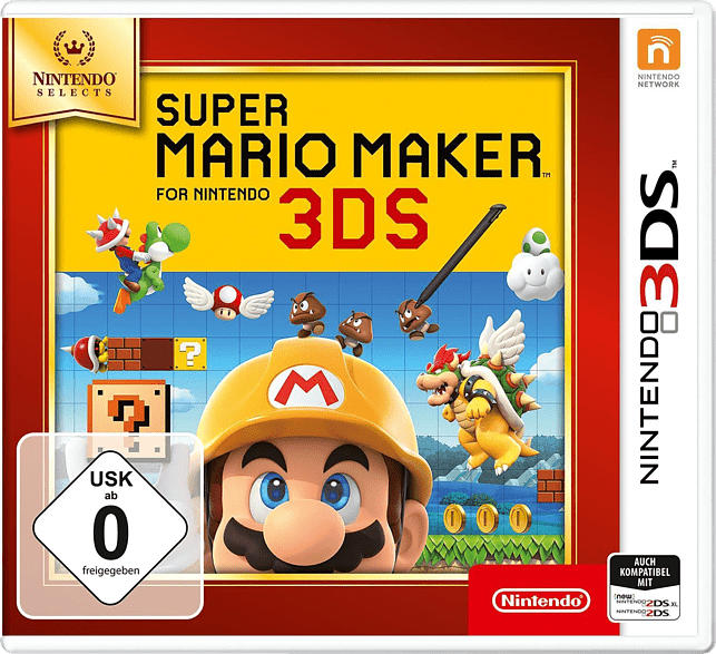 Super Mario Maker for Nintendo 3DS (Nintendo Selects) [Nintendo 3DS]