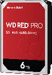 MediaMarkt WD Red™ Pro NAS-Festplatte BULK, 6 TB HDD, 3.5 Zoll, intern