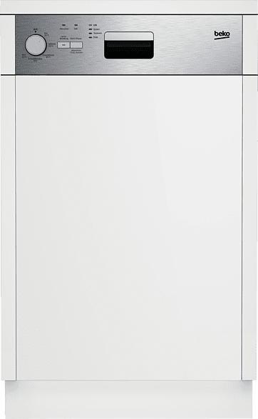 BEKO DSS 05011 X  Geschirrspüler (Einbaugerät, 448 mm breit, 48 dB (A), A+)