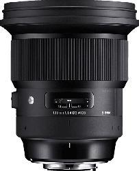 SIGMA 259955 105 mm-105 mm f/1.4 DG, HSM (Objektiv für Nikon F-Mount, Schwarz)