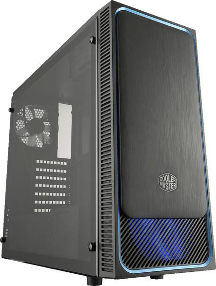 COOLER MASTER MasterBox E500L Window PC-Gehäuse, Schwarz