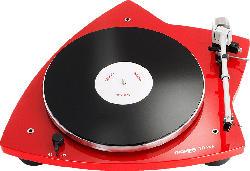 THORENS TD 209 Plattenspieler (Hochglanz Rot)