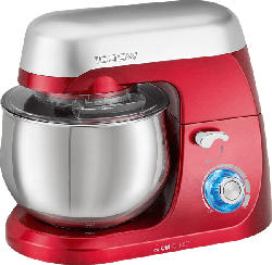 CLATRONIC KM 3709  Küchenmaschine Rot 1000 Watt
