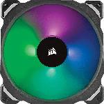 MediaMarkt CORSAIR ML140 PRO RGB Doppelpack mit Lighting Node PRO Gehäuselüfter, Schwarz