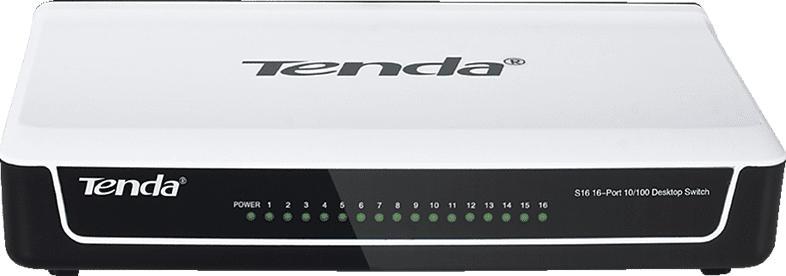Desktop Switch TENDA S16