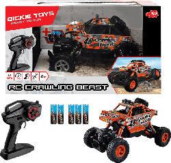 DICKIE TOYS RC Fahrzeug Crawling Beast RC Fahrzeug, Mehrfarbig