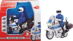 DICKIE TOYS Police Bike Spielzeugauto, Mehrfarbig