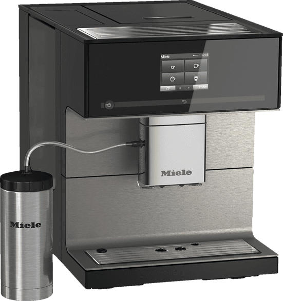 MIELE CM 7550 Kaffeevollautomat Obsidianschwarz