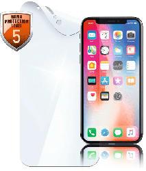 HAMA Crystal Clear Schutzfolie (Apple iPhone XS)