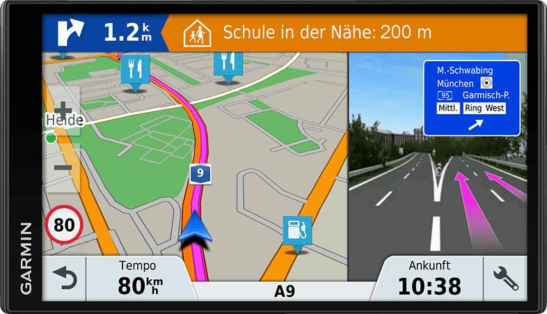 GARMIN DriveSmart 61 LMT-D PKW Zentraleuropa