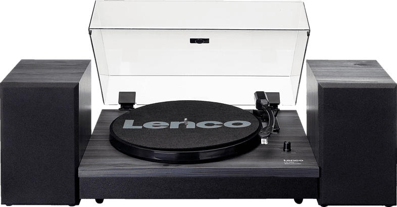 LENCO LS-300 Plattenspieler (Schwarz)