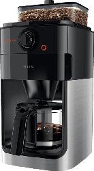 PHILIPS Grind & Brew HD7767/00 Kaffeemaschine Edelstahl/Schwarz
