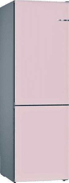 BOSCH KVN39IP3A Serie 4 Kühlgefrierkombination (A++, 273 kWh/Jahr, 2030 mm hoch, Pastellrose)