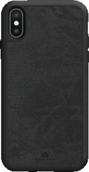 BLACK ROCK Co Statement , Backcover, Apple, iPhone XS Max, Kunststoff, Schwarz